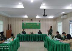 Kunjungan Kerja dan Pengarahan KASUBDITBINYANKES SDIRCAB PUSKESAD di RUMKIT TK. IV 01.07.02 BINJAI